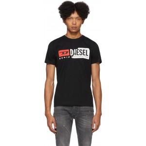 Black Cut T-Shirt