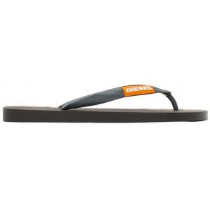Black SA-Briian Flip Flops