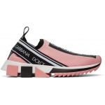 Pink Sorrento Slip-On Sneakers