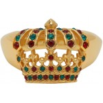 Gold Multicolor King Ring