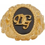 Gold Logo Ring