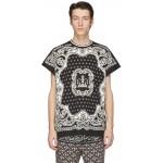 Black & Off-White Bandana T-Shirt