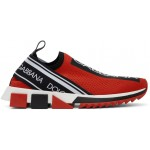 Red & Black Sorrento Sneakers