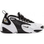 White & Black Zoom 2K Sneakers