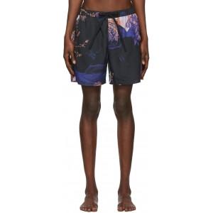 Black Animal Kingdom Swim Shorts