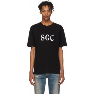 Black 'SGC' Classic T-Shirt