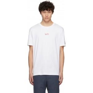 White Logo Durned201 T-Shirt
