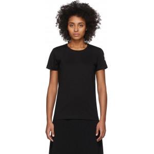 Black Logo Patch T-Shirt