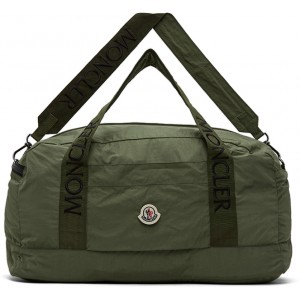 Green Nylon Duffle Bag