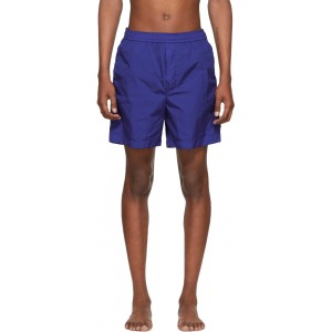 Blue Bermuda Swim Shorts