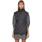 Black Ripstop Quilt Vest