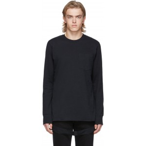 Black Side Strap T-Shirt