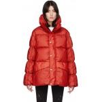 SSENSE Exclusive 6 Moncler 1017 ALYX 9SM Red Down Eris Jacket