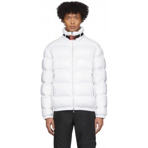 6 Moncler 1017 ALYX 9SM White Down Sirus Giubotto Jacket
