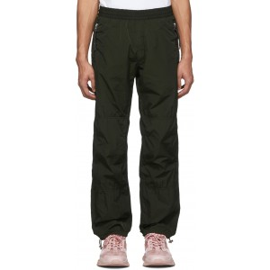 2 Moncler 1952 Black Athletic Lounge Pants