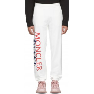 2 Moncler 1952 Beige Awake NY Edition Logo Lounge Pants