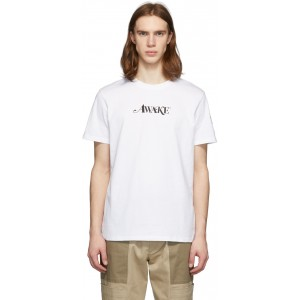 2 Moncler 1952 White 'Awake' T-Shirt