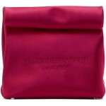 Pink Lunch Bag Clutch