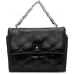 Black Halo Flap Crossbody Bag