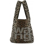 Brown & Black Wangloc Shopper Bag