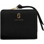 Black Mini Softshot Compact Wallet