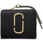 Black & Grey Mini Snapshot Compact Wallet
