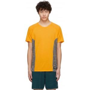 Yellow Wool Cru T-Shirt
