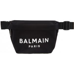 Black Nylon B-Bum Bag