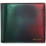 Green & Red Gradient Billfold Wallet