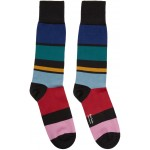 Multicolor Victor Stripe Socks