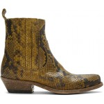 Tan Limited Edition Python Santiago Boots
