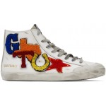 White Texas Patch Francy Sneakers