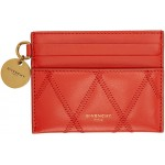 Red Diamond Quilted GV3 Card Holder