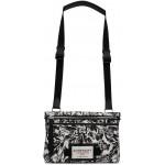 Black & White Downtown Messenger Bag