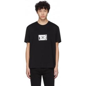 Black Stamp Patch T-Shirt