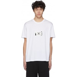 White Stamp Patch T-Shirt