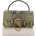 Green Python Mini Alix Top Handle Bag
