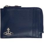 Blue Kent Zip Credit Card Holder