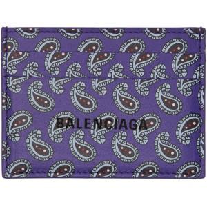 Purple Paisley Card Holder