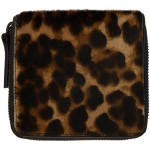 Brown & Black Animal Wallet