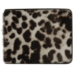 Off-White & Brown Animal Bifold Wallet