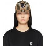 Beige Monogram Vintage Baseball Cap