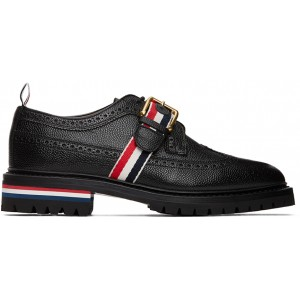 Black Strap Classic Longwing Brogues