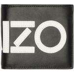 Black Logo Fold Wallet