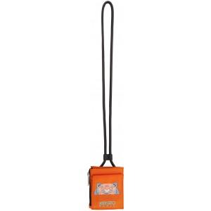 Orange Kampus Tiger Card Holder