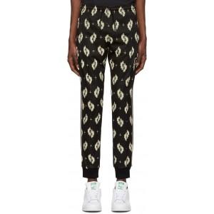 Black Ikat Lounge Pants