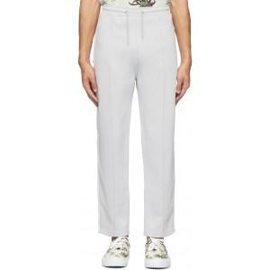 Grey Jersey Track Lounge Pants
