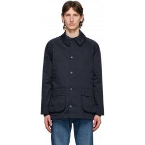 Navy Waterproof Bedale Jacket