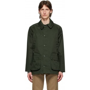 Green Waterproof Bedale Jacket