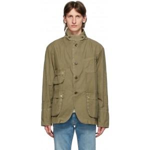 Tan Engineered Garments Edition Upland Casual Jacket